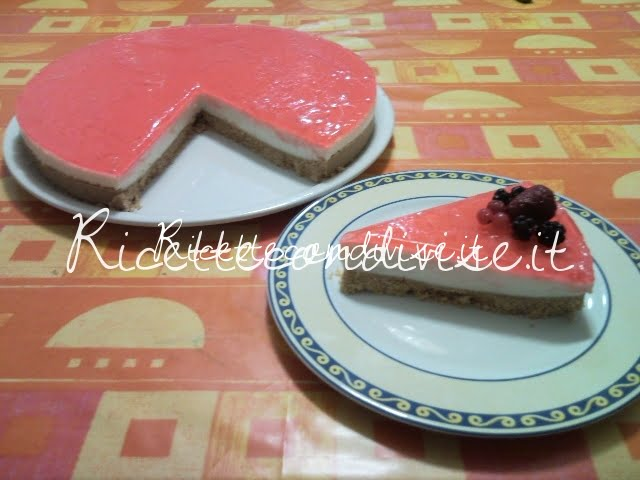 Ricetta Cheesecake di Teresa Mastandrea