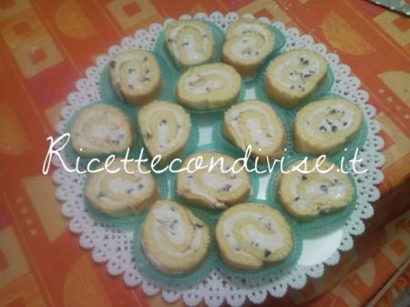 Ricetta Rotolo di ricotta e gocce di cioccolato di Teresa Mastandrea