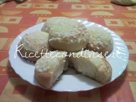 Ricetta Brioche Veneziane con crema pasticcera di Teresa Mastandrea