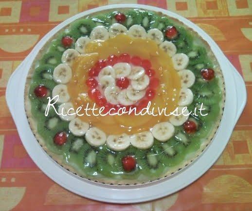 Crostata di frutta fresca di Teresa Mastandrea