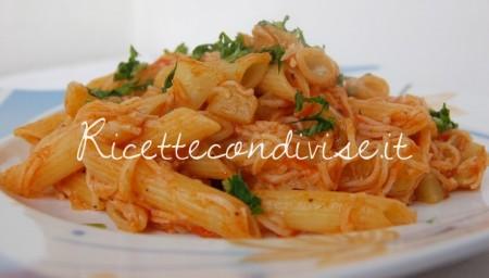 Ricetta Penne rosè con surimi e zucchina spinosa di Dany – Ideericette