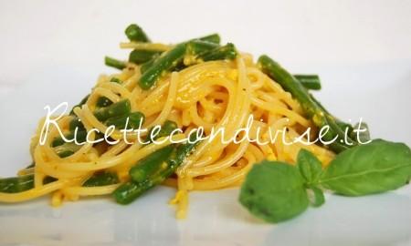 Ricetta Spaghetti alla carbonara di fagiolini boby di Dany – Ideericette
