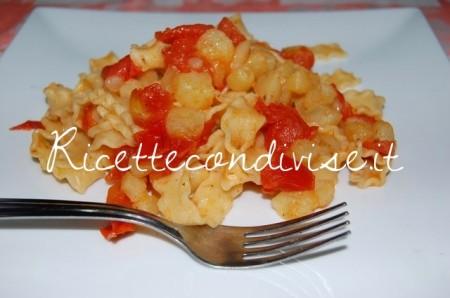 Ricetta Reginette con patate e pomodorini di Dany – Ideericette