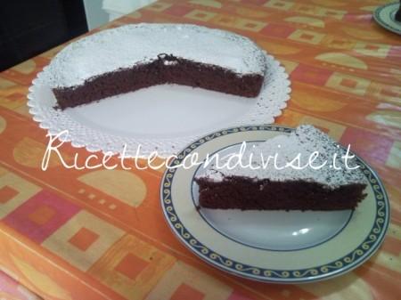 Torta soffice al cacao di Teresa Mastandrea
