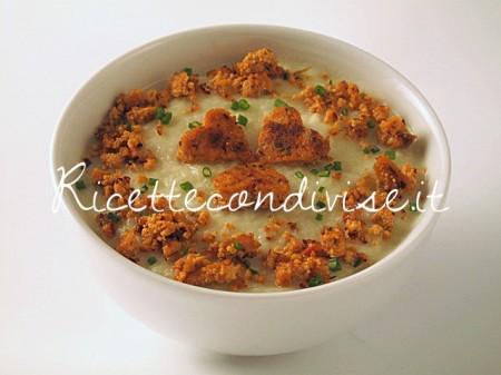Ricetta Crema di finocchio con tofu rosso di Manlio Midori