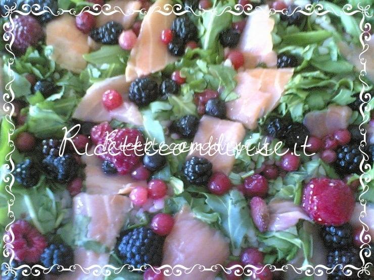 Insalata di riso ai frutti di bosco di Massimo