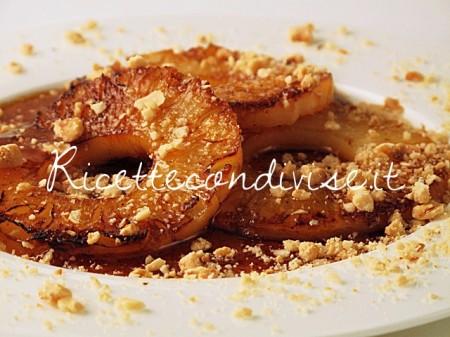 Ricetta Ananas caramellato alla Tati di Manlio Midori