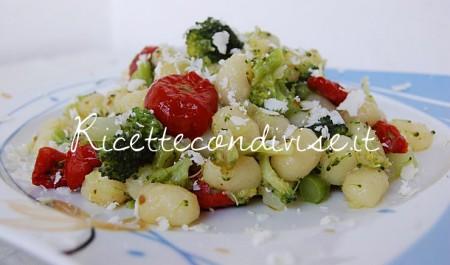 Ricetta Chicche di patata con broccoli, ciliegini semisecchi Agromonte e ricotta salata di Dany – Ideericette