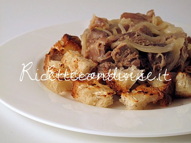 Particolare durelli di pollo con crostini di Manlio Midori