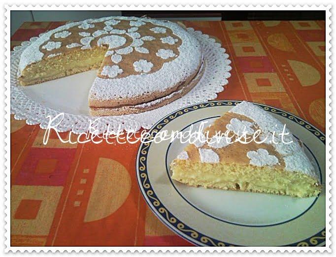 Particolare fetta torta al limone di Teresa Mastandrea