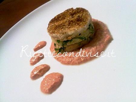 Sandwich-caldo-con-rucola-e-provola-affumicata-dello-chef-Matteo-Ghigino-450x337