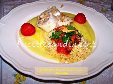 Ricetta Calamaro Maghrebino di Claudio Rega