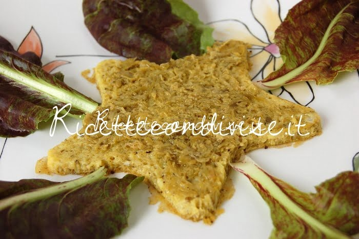 Particolare frittatina stella con bruschetta di asparagi di Dany - Ideericette
