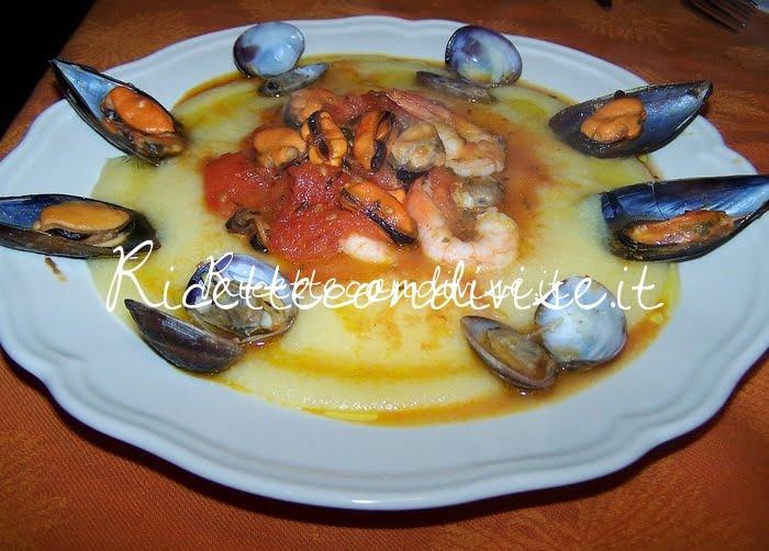 Polentina con frutti di mare di Claudio Rega