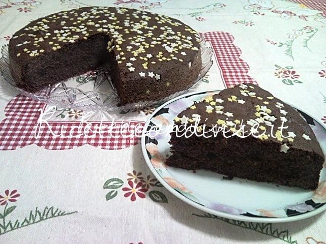 Primo piano Torta Pan di Stelle di Teresa Mastandrea