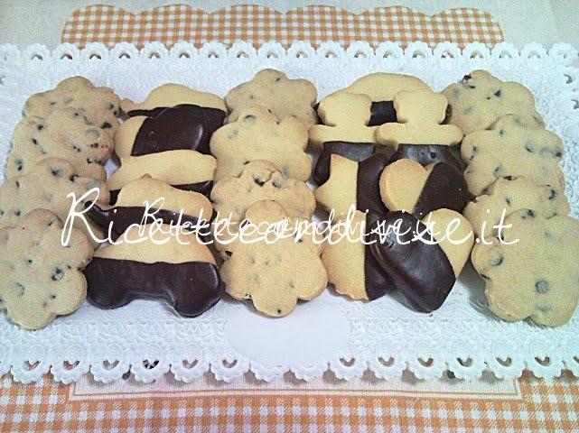 Primo piano biscotti al burro di Teresa Mastandrea