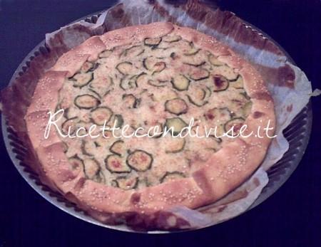 Ricetta Torta di zucchine con riso basmati e semi di sesamo di Deborah Capanna