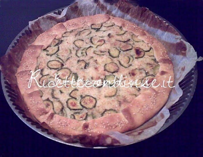 Torta di zucchine con riso basmati e semi di sesamo di Deborah Capanna