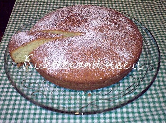 Torta margherita con farina di riso di Deborah Capanna