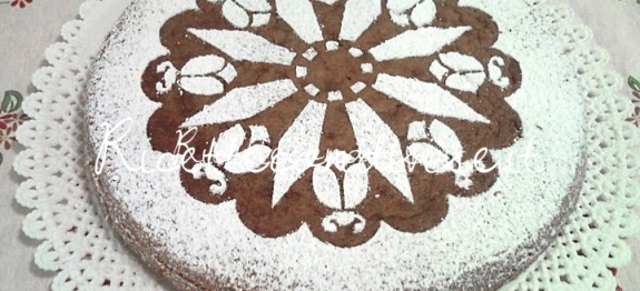 Torta soffice con base di cioccolato di Teresa Mastandrea