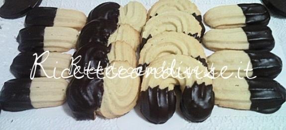 Biscotti di pasta frolla montata di Teresa Mastandrea