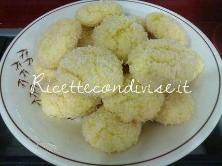 Ricetta biscottini al cocco di Barbara Casini