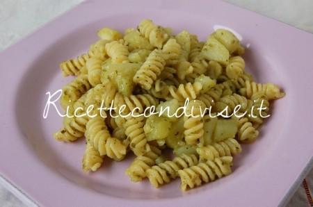 Ricetta Fusilli al pesto con patate di Dany – Ideericette