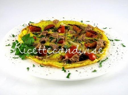 Frittata-con-pomodorini-cipollotti-e-tonno-di-Manlio-Midori-450x336