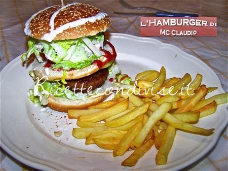 Ricetta hamburger di Mc Claudio (Rega)