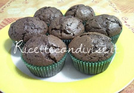Ricetta Muffin al cioccolato di Teresa Mastandrea
