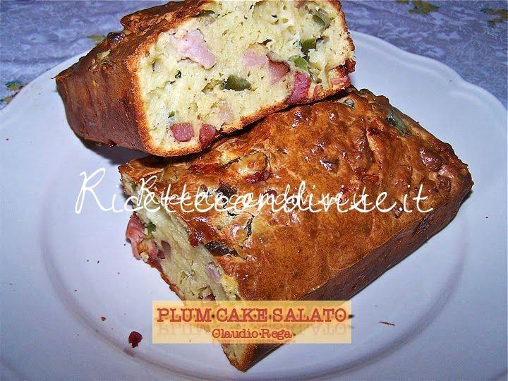 Plum-cake-salato di Claudio Rega