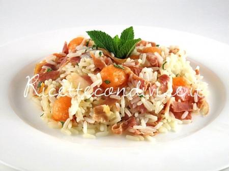 Riso-freddo-con-prosciutto-e-melone-di-Manlio-Midori-450x337