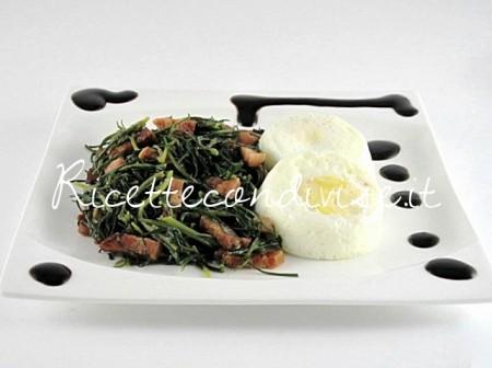 Uova-con-erbette-negus-al-bacon-di-Manlio-Midori-450x336