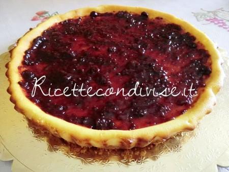 Ricetta Cheese Cake ai frutti di bosco di Melania Di Simone