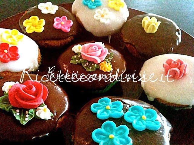 Cupcakes all'olio e mandarino di Silvia