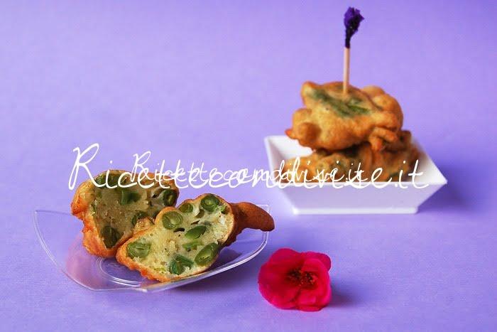 Particolare frittelle di fagiolini boby di Dany - Ideericette
