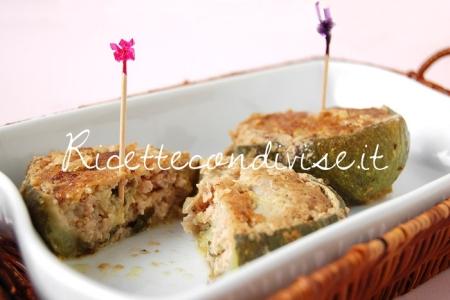 Ricetta Zucchine tonde ripiene di carne macinata di Giovanna