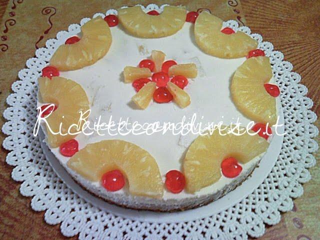 Semifreddo all'ananas di Teresa Mastandrea