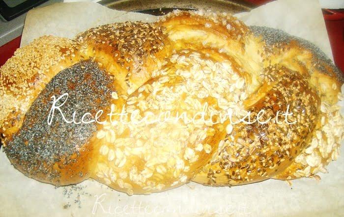 Treccia di pan brioche ai semi misti di Barbara Casini