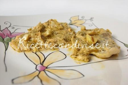 Ricetta Filetti di platessa con crema di asparagi Agromonte e pasta di granchio di Dany – Ideericette