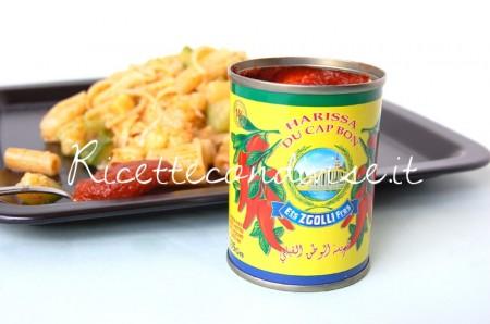 Particolare-pasta-mista-con-cavolfiore-zucchine-e-harissa-di-Dany-Ideericette-450x298