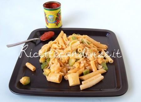 Pasta-mista-con-cavolfiore-zucchine-e-harissa-di-Dany-Ideericette-450x324
