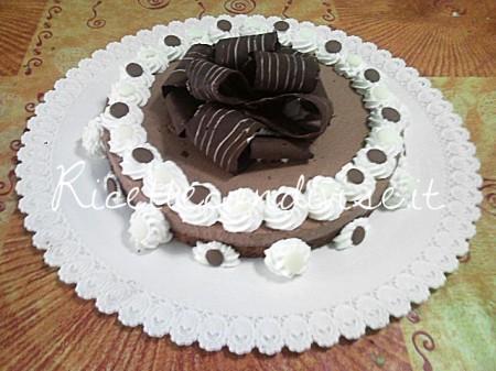 Ricetta semifreddo al cioccolato di Teresa Mastandrea