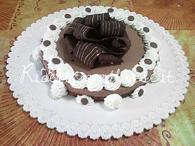 Semifreddo al cioccolato di Teresa Mastandrea