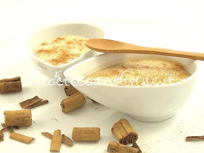 Biancomangiare in coppette con cannella di Manlio Midori