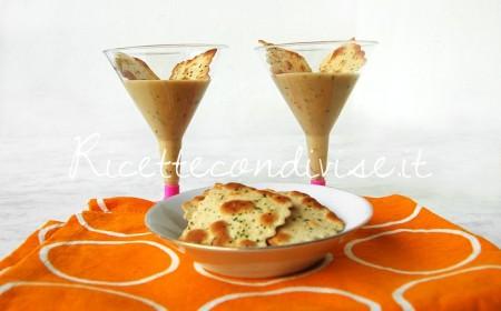 Crema-di-cetrioli-e-pasta-di-granchio-con-sfoglie-croccanti-al-forno-di-Dany-Ideericette-450x280