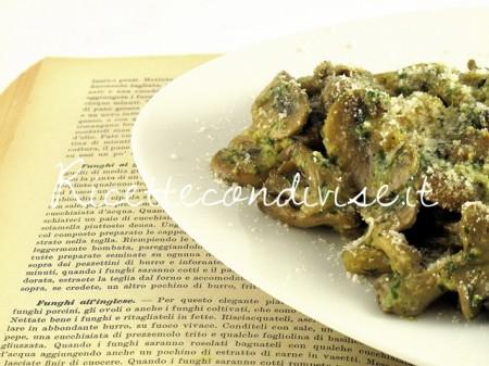 Ricetta funghi all'inglese di Manlio Midori