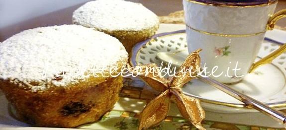 Muffin ai mirtilli di Susì