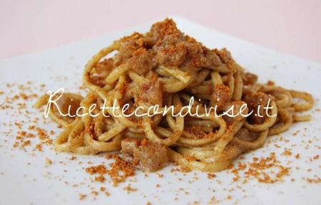 Primo-piano-linguine-con-pancetta-ultrasalsa-funghi-porcino-cipolle-e-menta-con-pangrattato-tostato-di-Dany-Ideericette-450x287