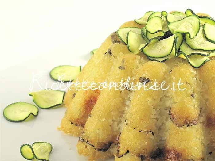 Primo piano sartù in bianco con zucchine di Manlio Midori